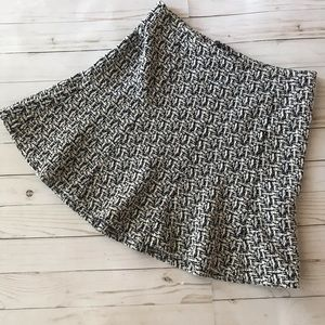 BANANA REPUBLIC | Mini Fit and Flare Skirt Boucle